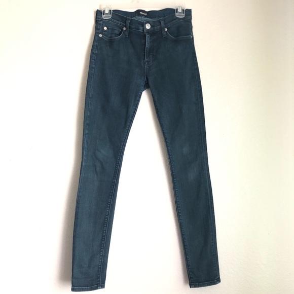 Hudson Jeans Denim - Hudson mid-rise Nico super skinny